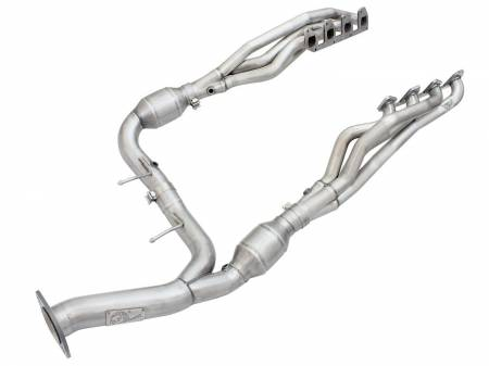 Advanced FLOW Engineering - aFe Twisted Steel Headers w/ Y-Pipe 10-14 Ford F-150 6.2L V8