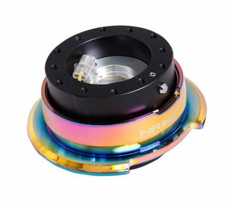 NRG Innovations - NRG Innovations Quick Release Gen 2.8 - Black Body/ Neo Chrome Ring
