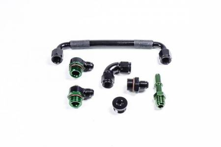Radium Engineering - Radium Engineering Toyota 2GR-FE Fuel Rail Plumbing Kit