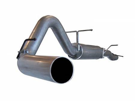 Advanced FLOW Engineering - aFe LARGE Bore HD Exhausts Cat-Back SS-409 EXH CB Ford Diesel Trucks 03-07 V8-6.0L (td)