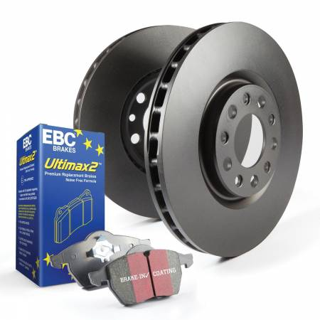 EBC Brakes - EBC Brakes S20K1209 S20 Kits Ultimax and Plain Rotors