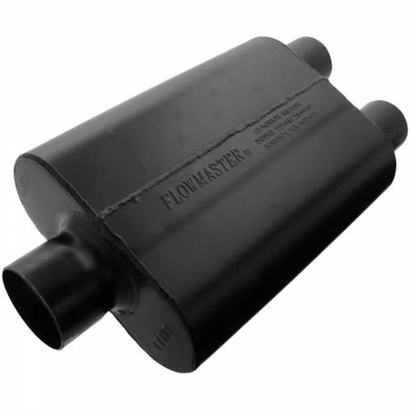 Flowmaster - Flowmaster Universal Super 44 Muffler - 3.00 Center In / 2.50 Dual Out