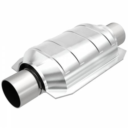MagnaFlow Exhaust Products - MagnaFlow Catalytic Converter Universal 2inch T2 Rear