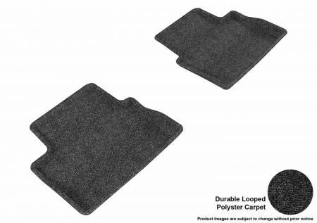 3D MAXpider (U-Ace) - 3D MAXpider FLOOR MATS CHEVROLET MALIBU 2013-2015 CLASSIC BLACK R2