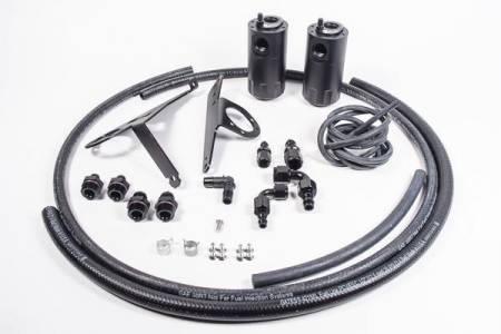 Radium Engineering - Radium Engineering 00-05 Honda S2000 (LHD Only) Dual Catch Can Kit