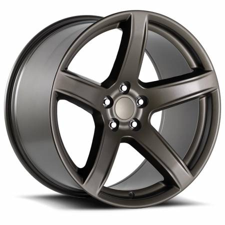 Factory Reproductions Wheels - FR Series 77 Replica Hellcat Wheel 20X9.5 5X115 ET15 71.5CB Bronze