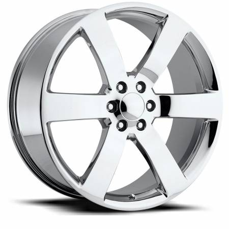 Factory Reproductions Wheels - FR Series 32 Replica Tahoe Wheel 22X9 6X5.5 ET22 78.1CB Chrome