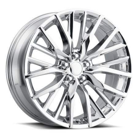 Factory Reproductions Wheels - FR Series 80 Replica Lexus RX350 Wheel 20x8 5X4.5 ET30 60.1CB Chrome