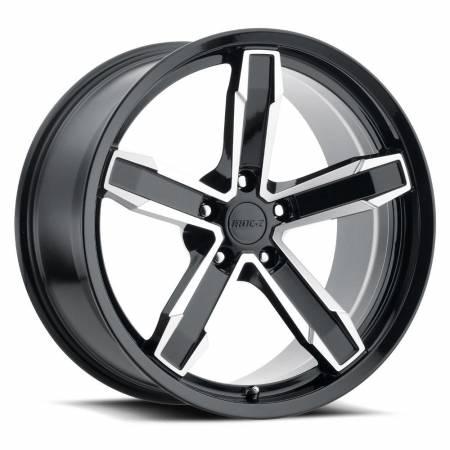 Factory Reproductions Wheels - FR Series Z10 Replica Iroc Wheel 20x11 5X120 ET43 66.9CB Gloss Black Machine Face