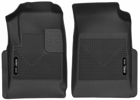 Husky Liners - Husky Liners 15 Chevy Colorado / GMC Canyon X-Act Contour Black Front Floor Liners