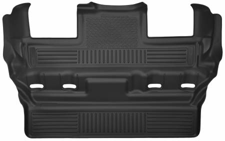 Husky Liners - Husky Liners 15 Cadillac Escalade / Chevy Tahoe / GMC Yukon X-Act Contour Black 3rd Row Floor Liners
