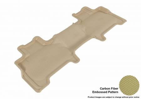 3D MAXpider (U-Ace) - 3D MAXpider FLOOR MATS FORD EXPEDITION/ LINCOLN NAVIGATOR 2007-2017 KAGU TAN R2 WITH CENTER CONSOLE
