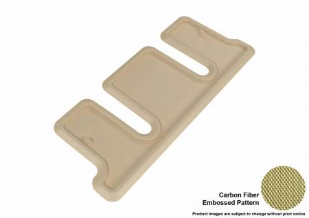 3D MAXpider (U-Ace) - 3D MAXpider FLOOR MATS BUICK ENCLAVE WITH BUCKET 2ND ROW 2008-2017/ CHEVROLET TRAVERSE 2009-2017/ GMC ACADIA 2007-2016/ GMC ACADIA LIMITED 2017 KAGU TAN R3