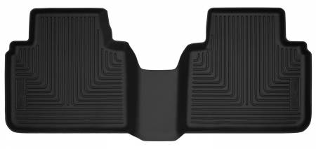 Husky Liners - Husky Liners 18-19 Honda Accord Sedan X-Act Contour Black Floor Liners (2nd Seat)