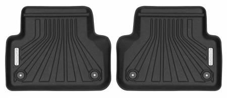 Husky Liners - Husky Liners 2017-2018 Audi A4 Mogo Black Second Row Floor Liners