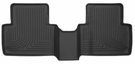 Husky Liners - Husky Liners 16-18 Honda Civic X-Act Contour Black Floor Liners (2nd Seat)