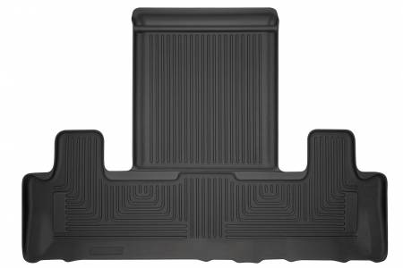 Husky Liners - Husky Liners 2018 Ford Expedition/Lincoln Navigator WeatherBeater 3rd Row Black Floor Liner
