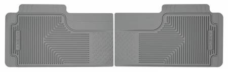 Husky Liners - Husky Liners 80-12 Ford F-150/00-05 Ford Excursion Heavy Duty Gray 2nd Row Floor Mats