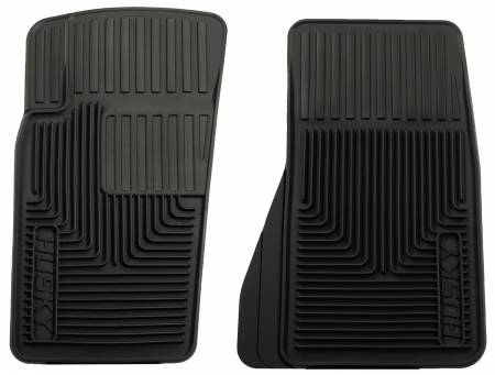 Husky Liners - Husky Liners 07-11 Jeep Wrangler (Base/Unlimited)/02-07 Liberty Heavy Duty Black Front Floor Mats