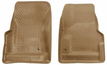 Husky Liners - Husky Liners 97-06 Jeep Wrangler Classic Style Tan Floor Liners