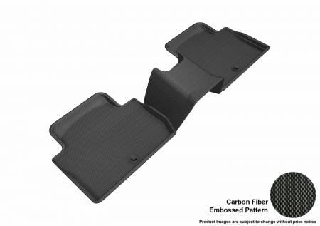3D MAXpider (U-Ace) - 3D MAXpider FLOOR MATS KIA STINGER 2018-2019 KAGU BLACK R2 (3PCS)