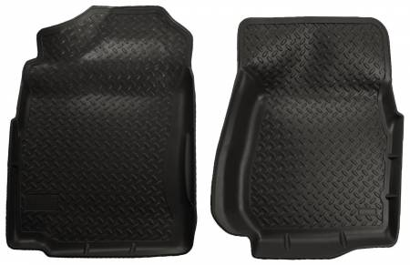 Husky Liners - Husky Liners 99-06 Chevrolet Silverado/GMC Sierra (Base/HD) Classic Style Black Floor Liners
