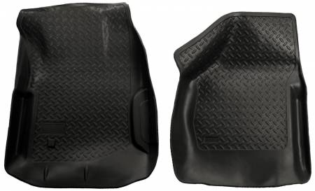 Husky Liners - Husky Liners 00-07 Ford F Series SuperDuty Reg./Super/Super Crew Cab Classic Style Black Floor Liner