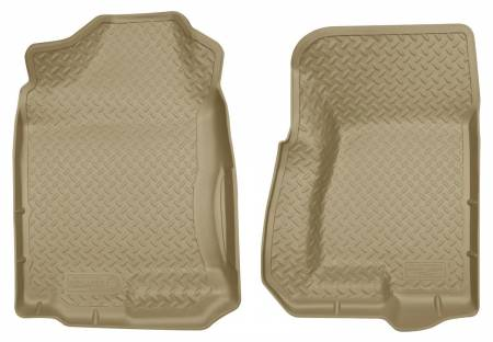 Husky Liners - Husky Liners 99-06 GM Suburban/Yukon/Full Size Truck/Hummer/Escalade Classic Style Tan Floor Liner