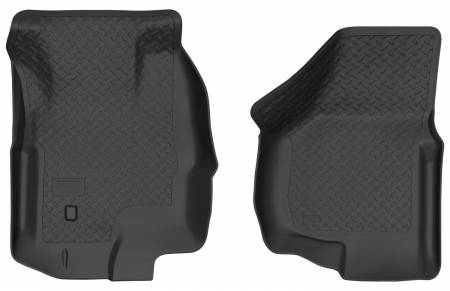Husky Liners - Husky Liners 00-05 Ford Excursion Classic Style Black Floor Liners