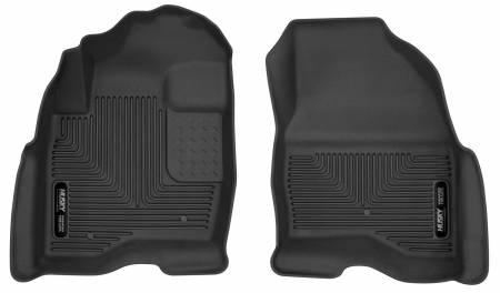 Husky Liners - Husky Liners 2015 Ford Explorer X-Act Contour Black Floor Liners