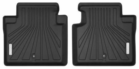 Husky Liners - Husky Liners 11-13 Infiniti M37/M56 14-18 Infiniti Q70 Mogo Black Second Row Floor Liners