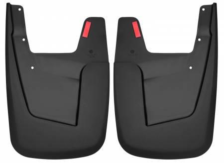 Husky Liners - Husky Liners 2019 RAM 1500 w/o OEM Fender Flares Custom-Molded Rear Mud Guards