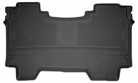 Husky Liners - Husky Liners 2019 Ram 1500 CC WeatherBeater 2nd Seat Floor Liners Black (W/O Factory Storage Box)