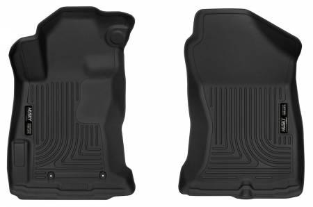 Husky Liners - Husky Liners 2018 Subaru Crosstrek Black Front Floor Liners