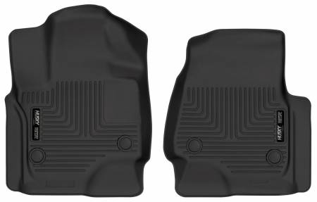 Husky Liners - Husky Liners 2018+ Ford Expedition WeatherBeater Black Front Floor Liners