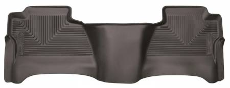 Husky Liners - Husky Liners 14-17 Chevrolet Silverado 1500 X-Act Contour Cocoa 2nd Seat Floor Liner