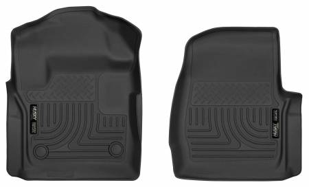 Husky Liners - Husky Liners 2017 Ford F250/F350 Series Standard Cab X-Act Contour Black Floor Liners