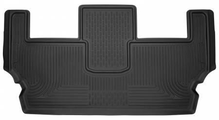 Husky Liners - Husky Liners 2017 Chrysler Pacifica X-Act Contour Black 3rd Seat Floor Liner