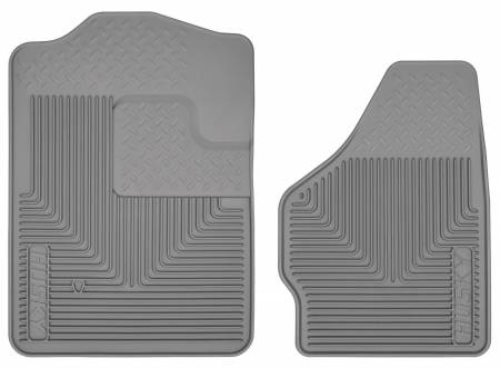 Husky Liners - Husky Liners 08-10 Ford F-250/F-350/F-450 SuperDuty Heavy Duty Gray Front Floor Mats