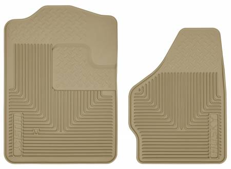 Husky Liners - Husky Liners 08-10 Ford F-250/F-350/F-450 SuperDuty Heavy Duty Tan Front Floor Mats