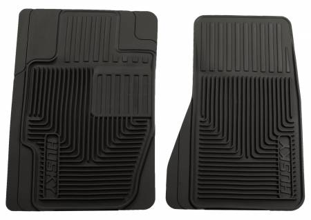 Husky Liners - Husky Liners 02-10 Ford Explorer/04-12 Chevy Colorado/GMC Canyon Heavy Duty Black Front Floor Mats
