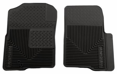 Husky Liners - Husky Liners 04-09 Ford F-150 Custom Fit Heavy Duty Black Front Floor Mats