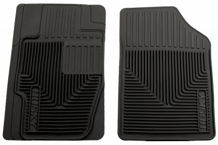 Husky Liners - Husky Liners 07-09 Acura MDX/07-12 Lincoln MKX/MKZ Heavy Duty Black Front Floor Mats
