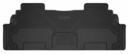 Husky Liners - Husky Liners 08-15 Buick Enclave / 07-15 GMC Acadia X-Act Contour Black 2nd Seat Floor Liners
