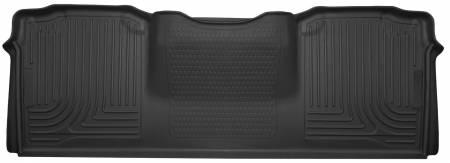 Husky Liners - Husky Liners 10-15 Dodge Ram Mega Cab X-Act Contour Black 2nd Row Floor Liners