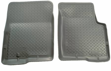 Husky Liners - Husky Liners 90-95 Toyota 4Runner (4DR)/Truck (Not T100) Classic Style Gray Floor Liners
