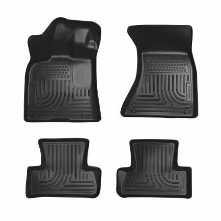 Husky Liners - Husky Liners 10-11 Merceded GLK WeatherBeater Combo Black Floor Liners