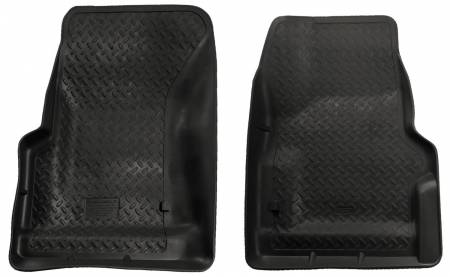 Husky Liners - Husky Liners 97-06 Jeep Wrangler Classic Style Black Floor Liners