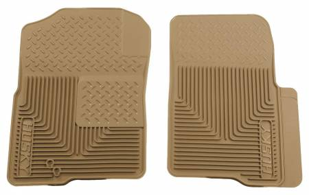 Husky Liners - Husky Liners 04-09 Ford F-150 Custom Fit Heavy Duty Tan Front Floor Mats