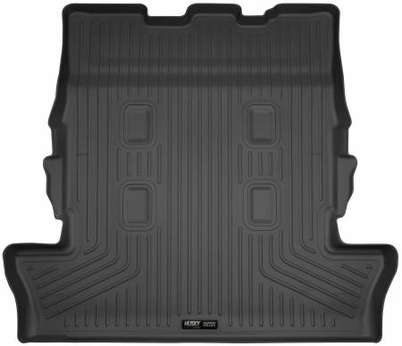 Husky Liners - Husky Liners 13-16 Lexus LX570 / 13-16 Toyota Land Cruiser Weaterbeater Black Cargo/Trunk Liner